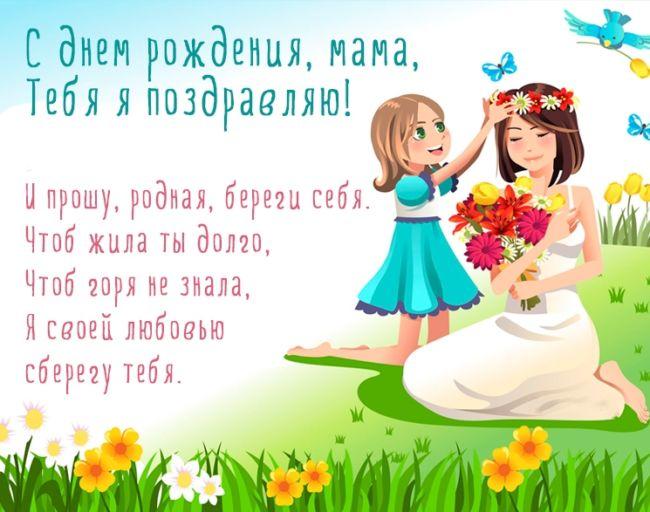 Картинки с днем рождения мама