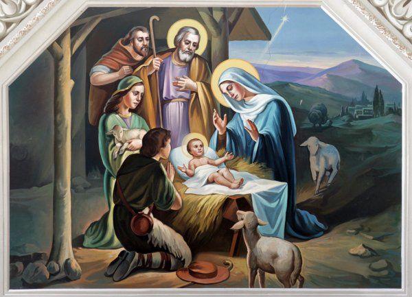 Рисунок рождество христово