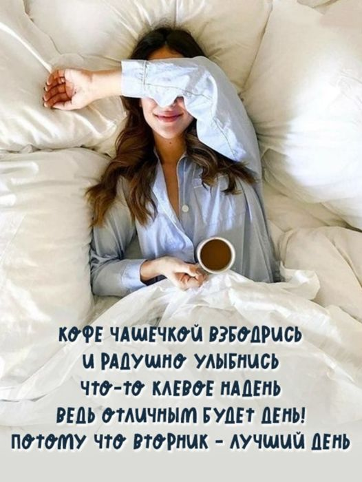 Доброе утро вторника бесплатно