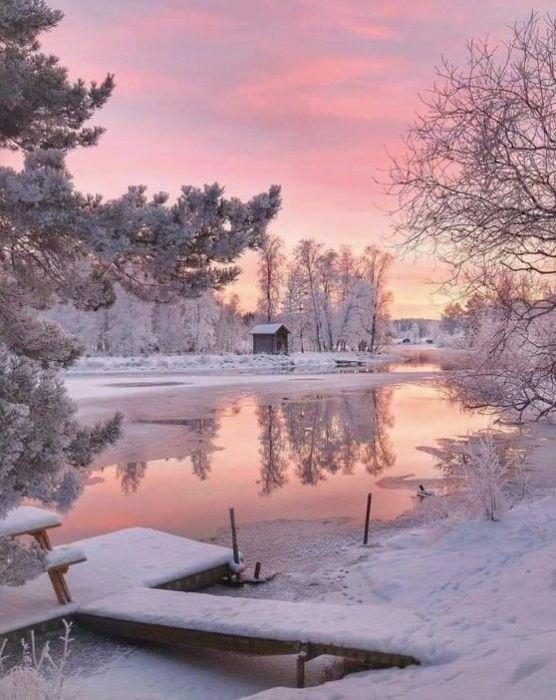 Зимняя сказка картинки