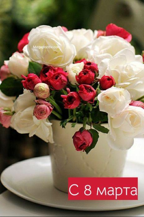 8 марта цветы
