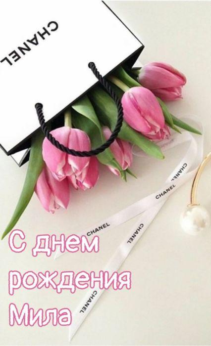 С днем рождения Мила