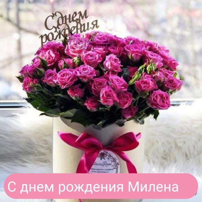 С днем рождения Милена